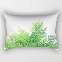 Beautiful Fern bouquet Rectangular Pillow