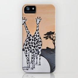 Perd & Kameel iPhone Case