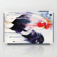 rooster iPad Cases featuring Rooster  by Slaveika Aladjova