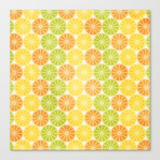 Zesty Slice Canvas Print