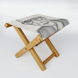 William S. Burroughs Folding Stool