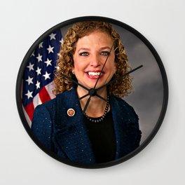 Debbie Wasserman Schultz Wall Clock