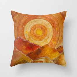Sunset w.02 Throw Pillow
