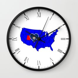 State of Utah Wall Clock