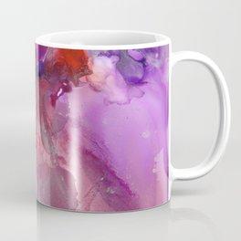 Alcohol Ink 'The Last Unicorn' Coffee Mug