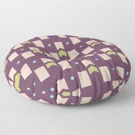 Art Deco Geometric Pattern 273 Floor Pillow