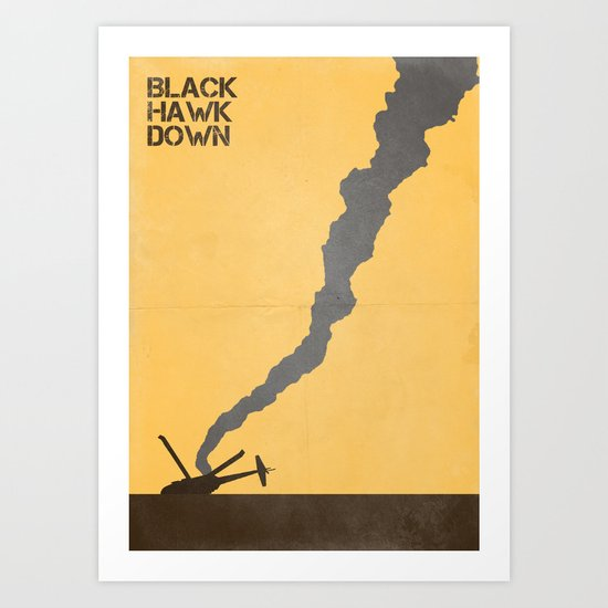 Black Hawk Down Art Print