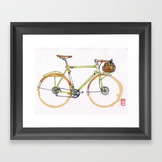 Coffee Wheels #17 Framed Art Print