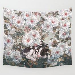 warm rain Wall Tapestry