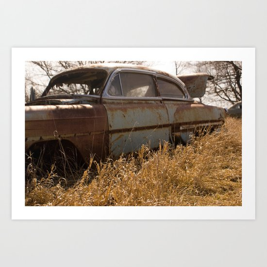 Sunday Drive Art Print