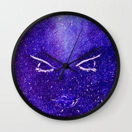 Space lips Wall Clock