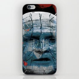 "Pinhead Hellraiser ""Do I Look Like Someone Who Cares What God Thinks?"" iPhone Skin"
