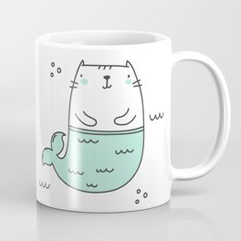 Merkitty Mint Green Coffee Mug