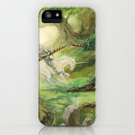 Saint George and the Dragon iPhone Case