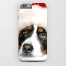 Santa Dog iPhone Case