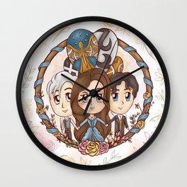 Tessa & Will & Jem Wall Clock