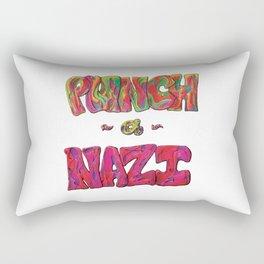 PunchANazi - This is Not Typography Rectangular Pillow