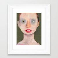 luke hemmings Framed Art Prints featuring Luke by Guim Tió