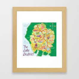The Lake District Framed Art Print