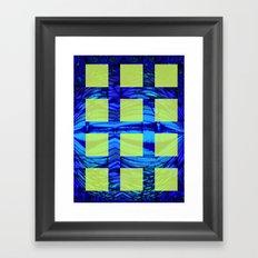 Caged Butterfly Framed Art Print