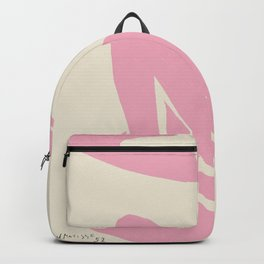 Pink Nude By Henri Matisse HD High Resolution Version Backpack