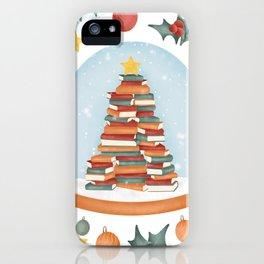 BOOKISH CHRISTMAS iPhone Case