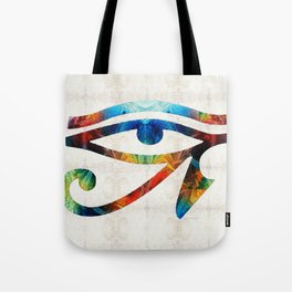Eye of Horus - Art By Sharon Cummings Tote Bag