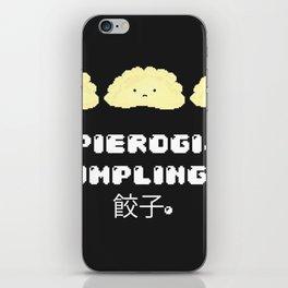 Pierogi. Dumplings. 餃子. iPhone Skin