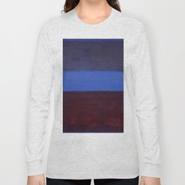 No.61 Rust and Blue 1953 by Mark Rothko Long Sleeve T-shirt