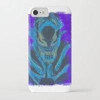 xenomorph iPhone & iPod Cases featuring Alien Xenomorph  by Dukesman