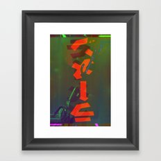 Save it for a Rainy Day Framed Art Print