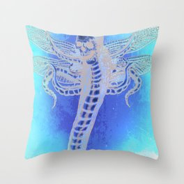 SERPENT LORD Throw Pillow