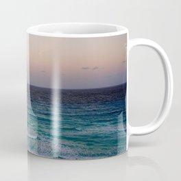 Beach and sky at sunset time Coffee Mug