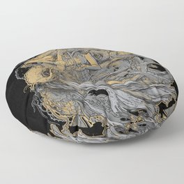 Octolady Floor Pillow