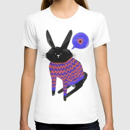 A Bunny With Feelings T-shirt