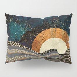 Gold & Silver Fields Pillow Sham