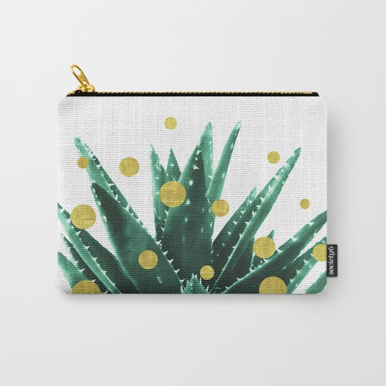 Christmas Succulent Carry-All Pouch