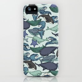 Very Whale! iPhone Case