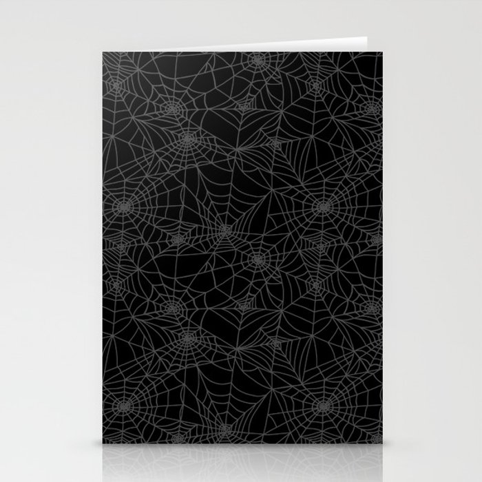 Dead of Night Cobwebs Stationery Cards
