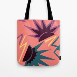 CELEBRITY, ART DECO MODERN: MIAMI DUSK Tote Bag