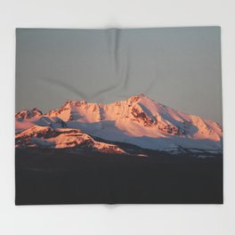 Alpenglow Throw Blanket