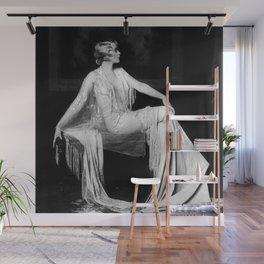 Muriel Finlay, Ziegfeld Follies Jazz Age black and white photograph Wall Mural