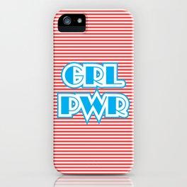 GRL PWR, Girl Power iPhone Case