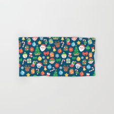 Christmas Pattern Hand & Bath Towel