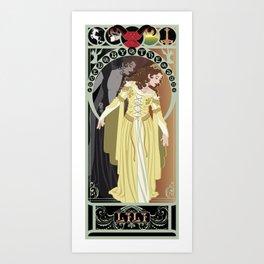 Lili Nouveau - Legend Art Print