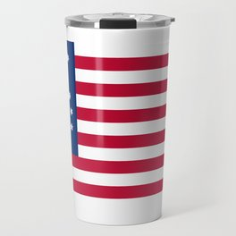 American Bennington flag - Authentic scale and color Travel Mug