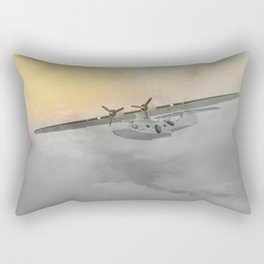 """Flying boat"" Rectangular Pillow"