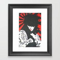 Siouxsie & The Banshees Framed Art Print