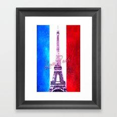 Eiffel Tower-12 Framed Art Print