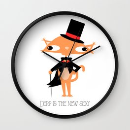 Derp is the new sexy Wall Clock